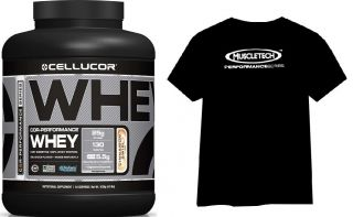 CELLUCOR COR-Performance Whey 1800g + Triko + Bag + Šejkr + tyčinka FitJoy + Muscletech HYDROXYCUT Pro Clinical 60cps.